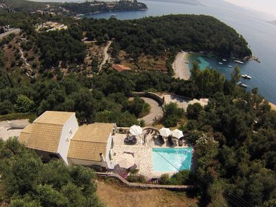 Photo for Stylish. Heated Pool, Secluded Beach, Stunning Views Short Walk To Agni & Kalami