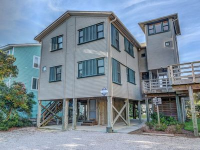Photo for ELLINGTON GGG-Safe Harbor, Soundfront, Topsail Beach, Sleeps 8, Elevator, Dock