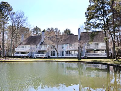 Photo for Lake View! 2 BR / 2 BA non-rental in Bethany Beach, Sleeps 2