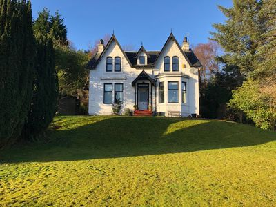 Photo for Stunning views, dog friendly near Helensburgh and Loch Lomond.