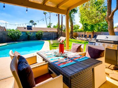 Photo for BACKYARD BLISS- N. SCOTTSDALE + FIRE PIT!