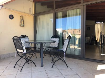 Photo for Holiday home with a furnished panoramic terrace