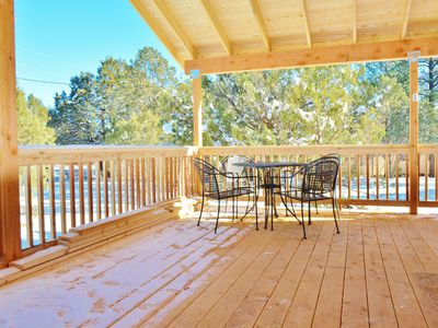 Photo for FALL DEALS! Three Elks Cabin | Peaceful location | Spacious covered deck
