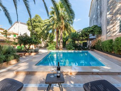Photo for Fantastic villa in mallorquin style with pool - Can Bac