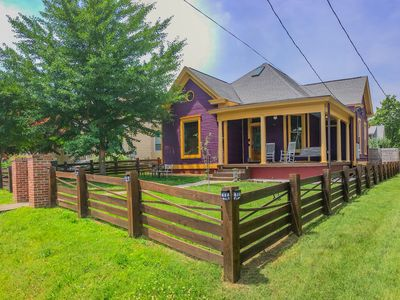 Photo for The Purple House in Historic East Nashville