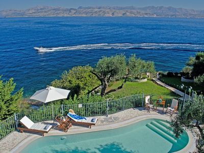 Photo for Kassiopi Villa, Sleeps 10 with Pool, Air Con and WiFi