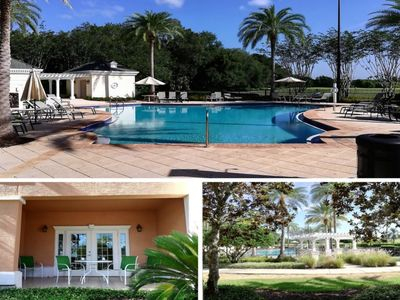 Photo for ★ Updated Pool View Condo with Patio - No Carpets - Five Star Resort Community★