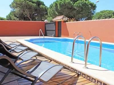 Photo for BEACH THE BARROSA. IDEAL VILLA FOR YOUR HOLIDAYS IN FAMILY, 10 PAX