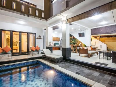 Photo for ❤️3BR Private Pool Walk to Beach and Shops Legian