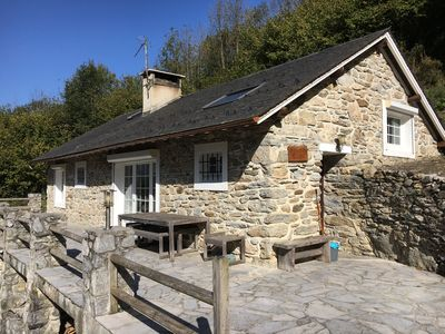 Photo for Fully equipped chalet quiet and very comfortable 90 m2 south exposed terrace