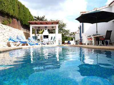 Photo for Villa for families with private pool, fenced garden, free wifi, bbq and pk