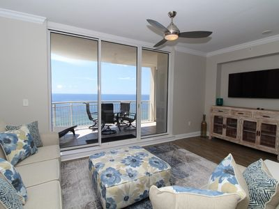 Photo for Indigo East 1205- Beach Front Unit with Luxurious Interior and Amenities!