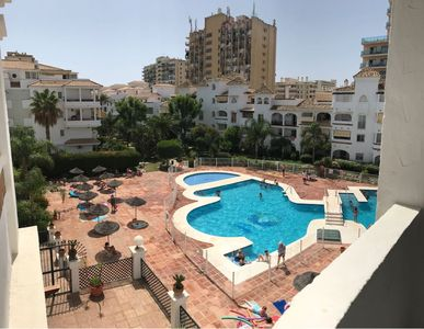 Photo for Fantastic 2 bedroom apartment with pool and near the beach