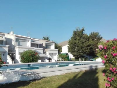 Photo for Ground floor with garden and barbecue, 5 minutes from the beach