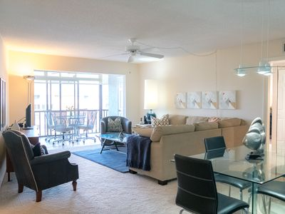 Photo for Beautiful 2 bedroom 2 bathroom unit, and enclosed lanai. Free wifi and phone