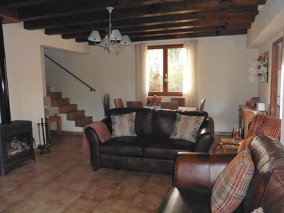 Photo for Spacious Villa With Million Pound Views. This villa is in a village setting.