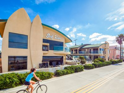 Ocean Beach Front 2 Br Ba Surf Rider Homeaway Mission