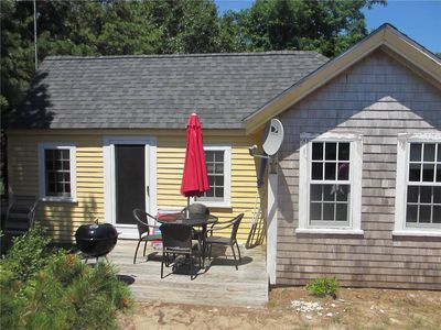 Chequessett Bluff Waterfront Cottage--Direct Beach Access