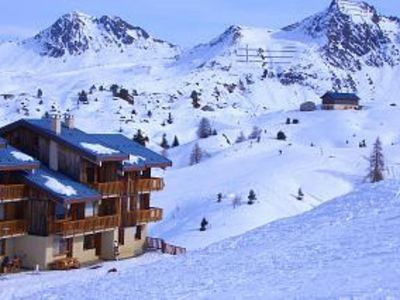 Photo for Plagne Village -  Ski to door apartment