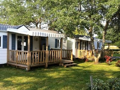 Photo for Camping La Fontaine *** - Mobile Home 3 Rooms 4 Persons Flores