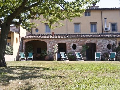 Photo for Triple comfort room, in B&B of 1700, 5km from Pisa