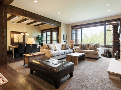 Photo for Modern luxury condo at ski-in, ski-out Silver Star community -- on-site concierge, winter shuttle