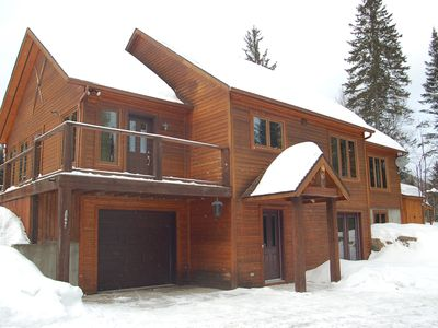 Photo for The Johannsen - Tremblant - Large newer secluded house near the resort