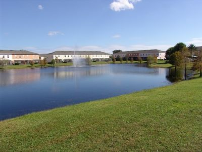 Photo for From $85/nt,4br/3ba TownHome With Hot Tub/lake View,Near Disney,Convention Cente