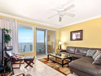 Photo for Treasure Island 1102, 2 Bedrooms, Sleeps 6, Beachfront, Beach Chairs, Pool