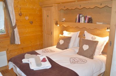 Double bedroom with wardrobes either side and an Ensuite