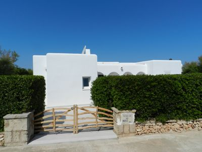 Photo for Tourism in Cala Blanca Villa with private pool, terrace and sea views.