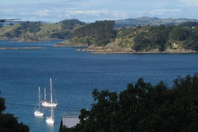 Oneroa Bay from the deck