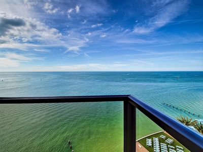 Stunning view of the Gulf of Mexico from the balcony