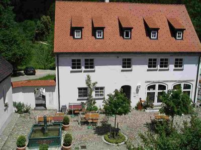 "Photo for Holiday in the stylish apartment ""Kuhstall"" in Glasmacherdorf Schmidsfelden"