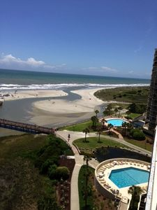 Photo for Oceanfront & Best at the Creek! Gourmet Kitchen, 3 New Baths, Fabulous!