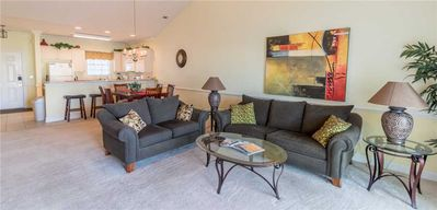 Photo for Spacious floor plan! GREAT LOCATION! Next to the pool w/ great lake view!