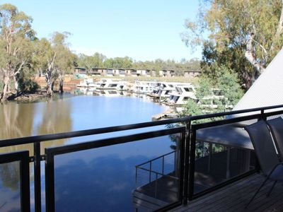 Photo for Deep Creek Marina Unit with beautiful river view - sleeps 10