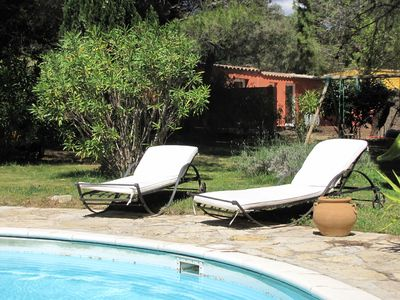 Photo for independents cottages amidst vineyards 10 min beaches