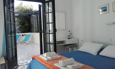 Photo for Kokkini Hani beautiful family Apartment just 100 meters from the sea.