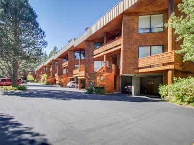 Photo for Chic, ski-in/ski-out, dog-friendly condo w/ great mountain views & shared pool