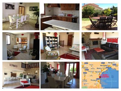 Photo for Beautiful villa of character - 10 people - near the beaches