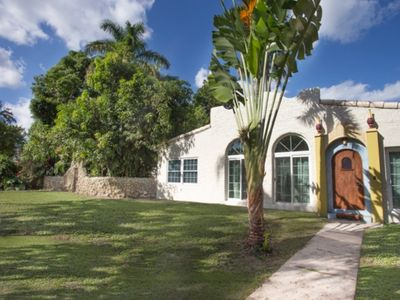 Photo for Coral Gables Spanish house on 15000 sqft lot up to 10 people