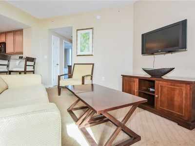 Photo for Inviting PRIVATE BALCONY, OPEN CONCEPT! Overlooks the community LAGOON POOL! 🏊