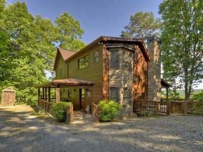 Photo for 3BR Cabin Vacation Rental in Mineral Bluff, Georgia