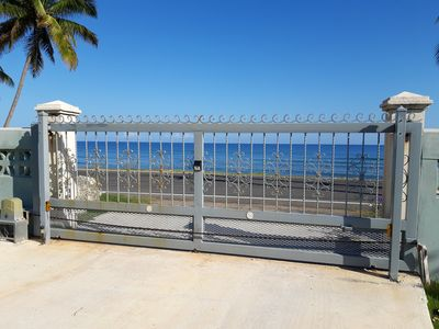 Photo for Beachfront w/Reserved Water Tank, Generator & Electric Gate w/beeper