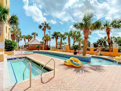 Photo for Oceanfront condo w/ water views, shared hot tub, pool & sauna on-site!