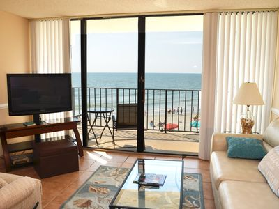 Photo for MAGNIFICENT 2 BEDROOM CONDO ON THE BEACH Royal Garden 206