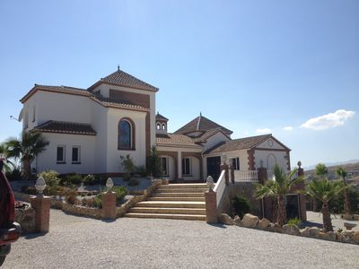 Photo for Large Luxurious Villa Affording Superb Mountain and Valley Views