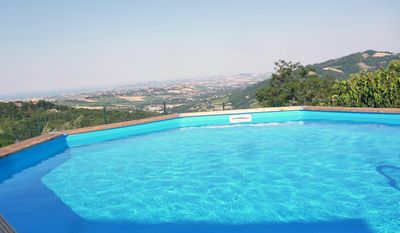 Photo for Villa between sea and hill with private pool