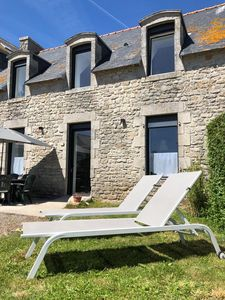 Photo for Fisherman's house completely renovated on the PORT OF LESCONIL (sea view)